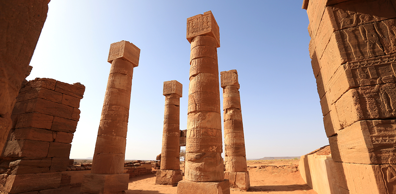 Ancient ruins in North Sudan
