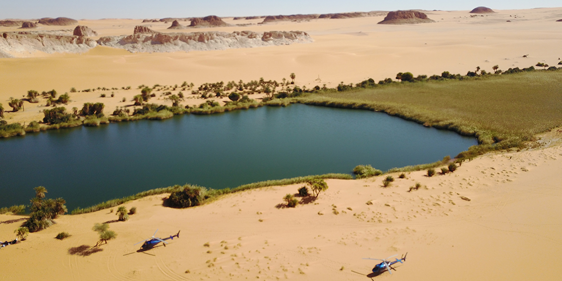 Lakes of Ounianga, Northern Chad