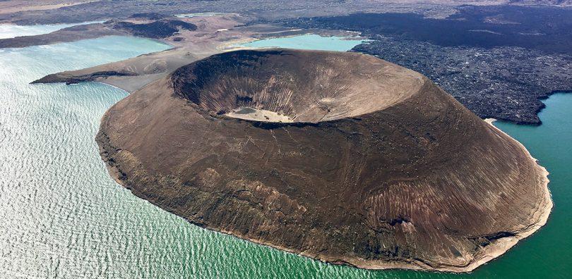 Lake Turkana, Nabuyatom Crater