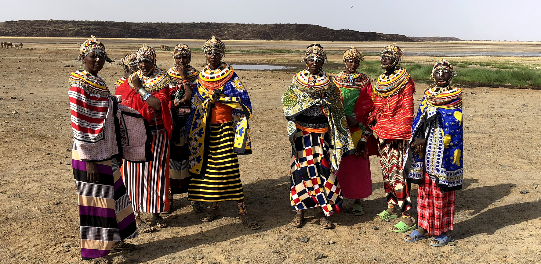 Rendille Ladies in the Deserts of Northern Kenya