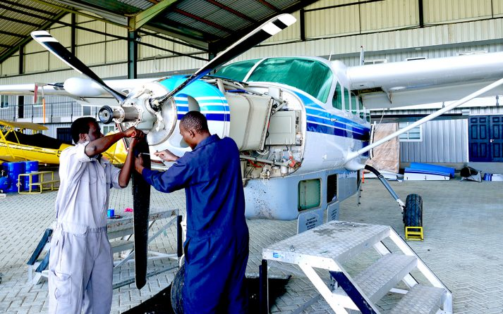 Aircraft Maintenance, Cessna Caravan