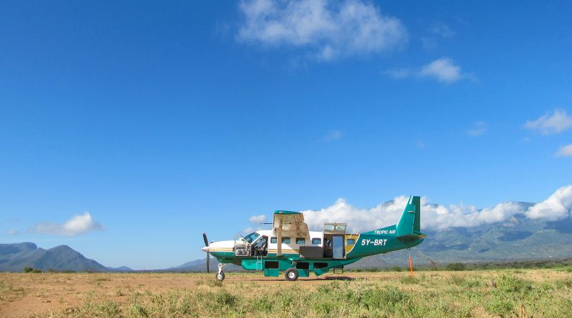 Cessna Caravan at Samburu
