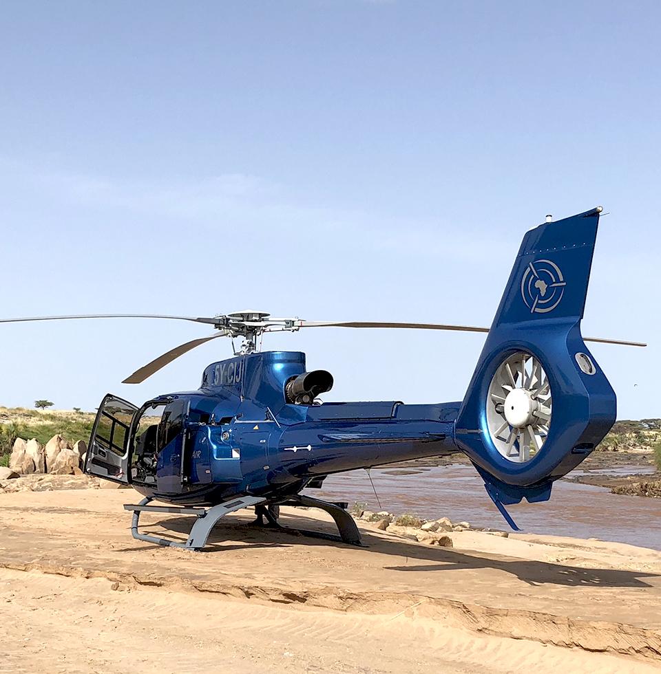 H130 helicopter, Kenya