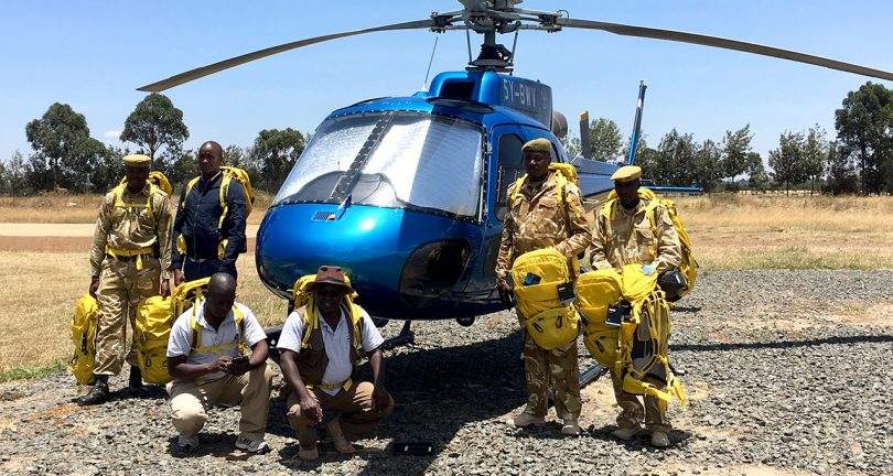 KWS Mountain Rescue team, Mount Kenya