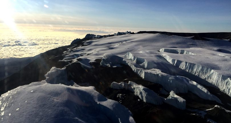 Dawn on Mount Kilimanjaro