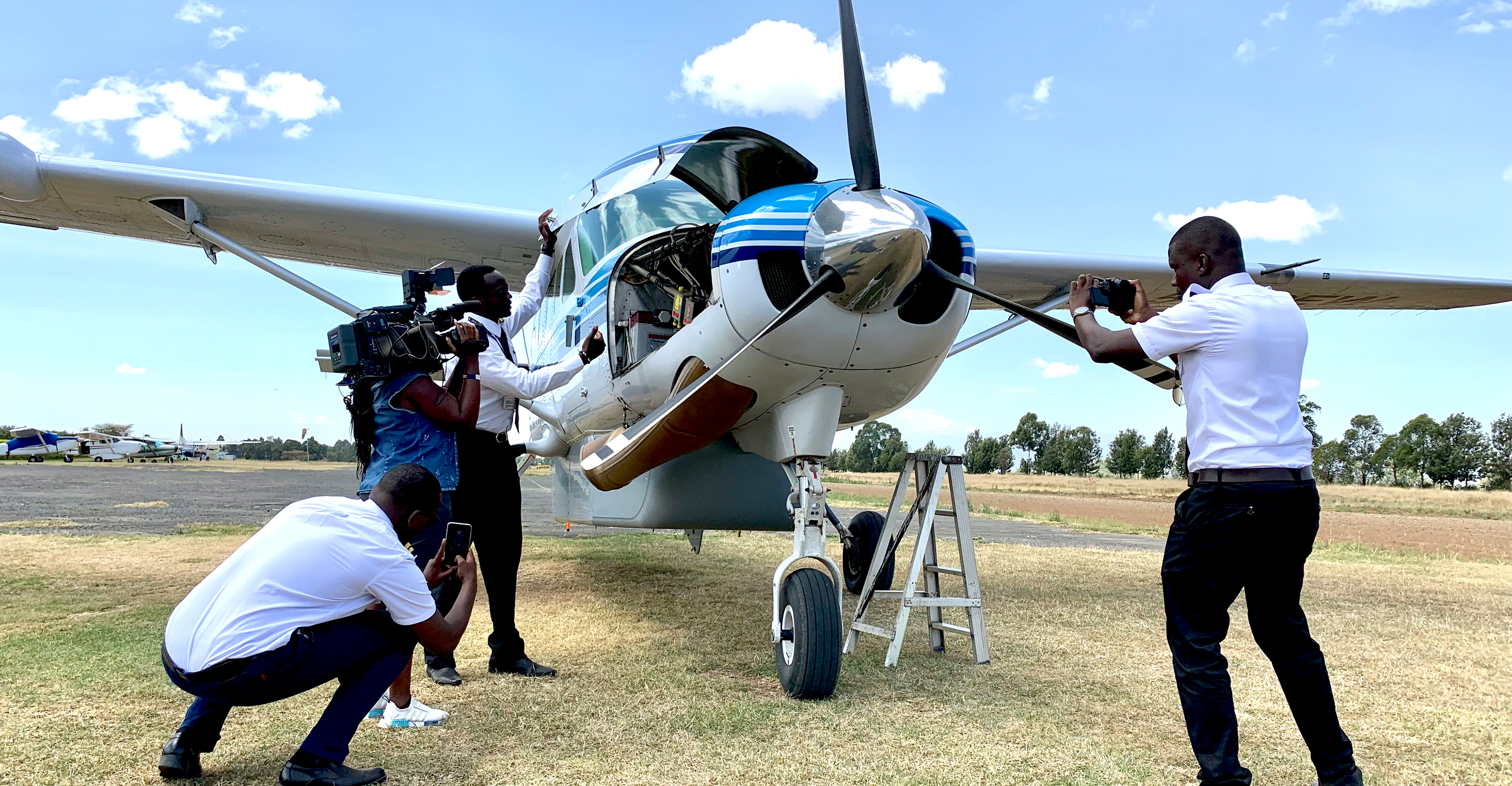 Cessna Caravan at Nanyuki Airfield