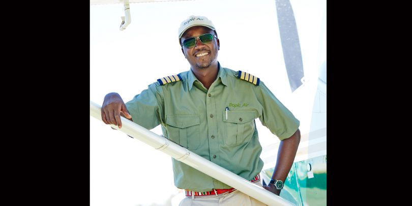 Iain Njiraini, chief pilot Tropic Air