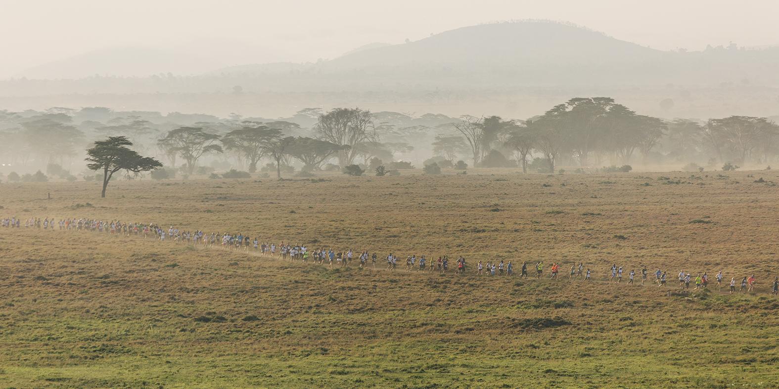 Safaricom Marathon, Lewa Wildlife Conservancy