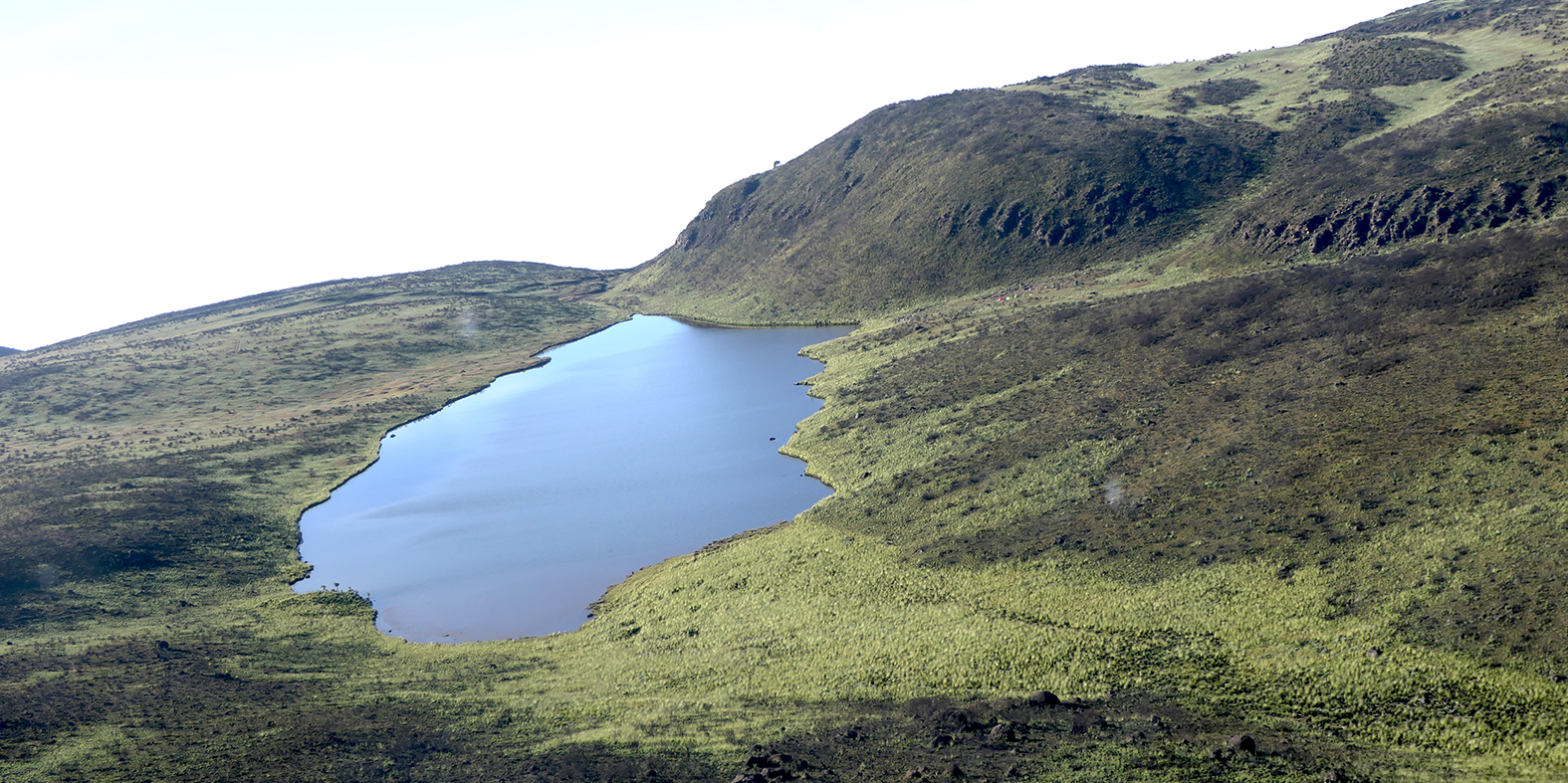 Fox Tarn on Mount Kenya