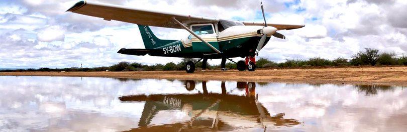 Cessna 182 in Samburu
