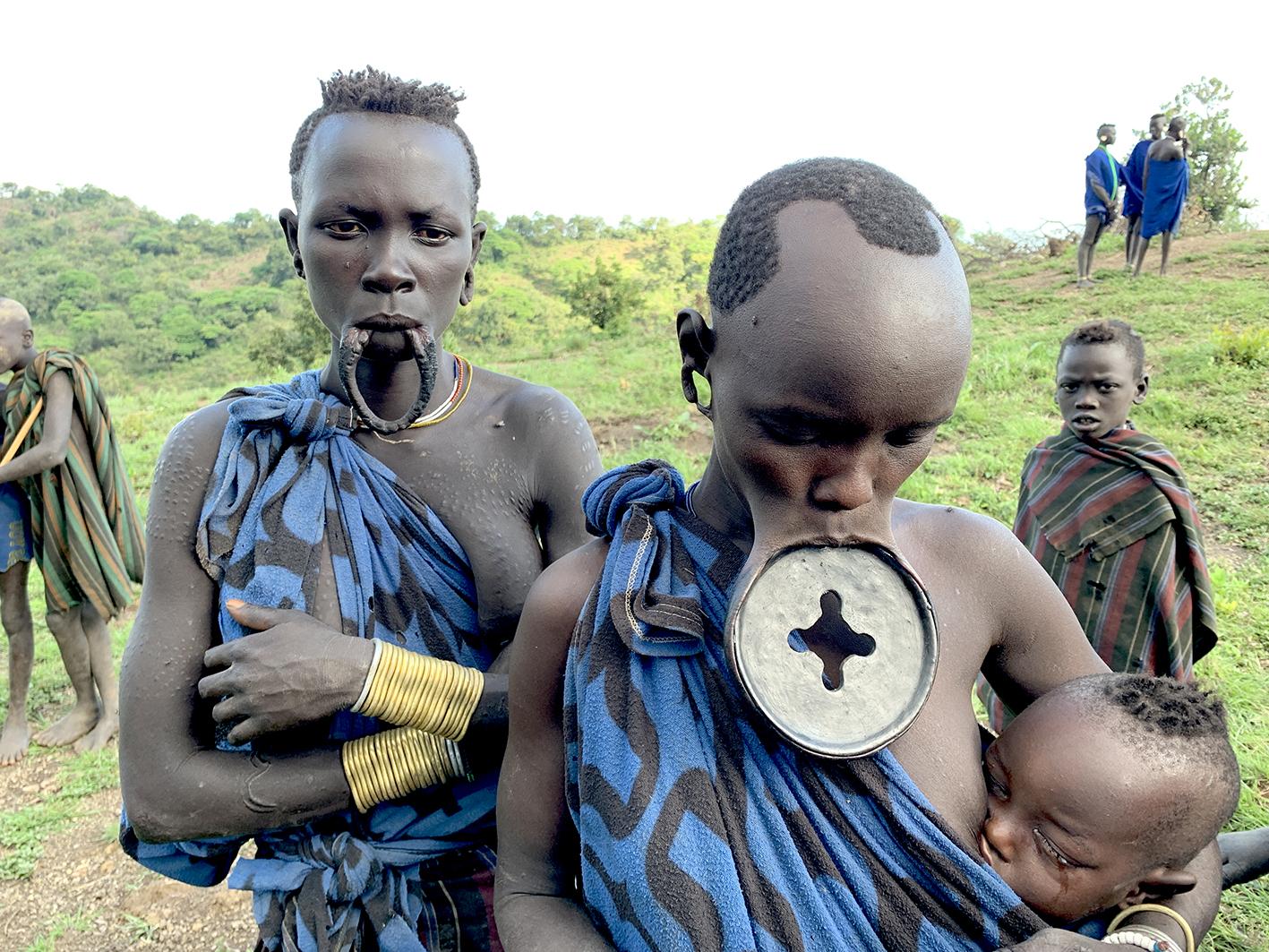 Mursi people, Omo Valley, Ethiopia