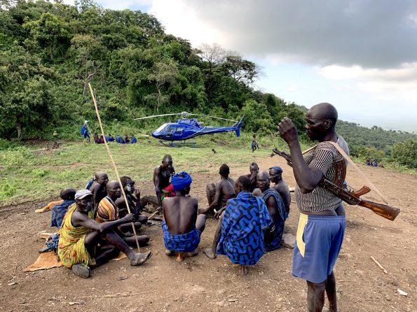 Mursi people, Omo Delta Ethiopia