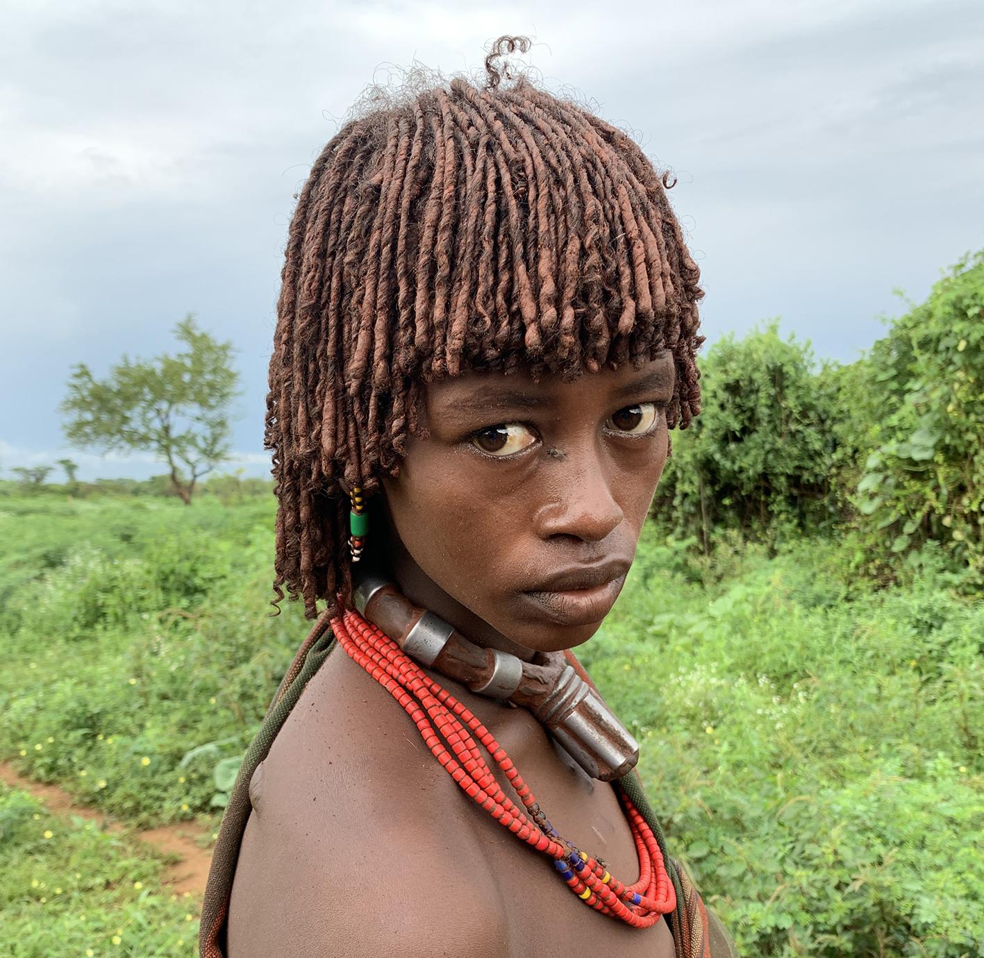 Hamar lady, Omo River Valley in Ethiopia