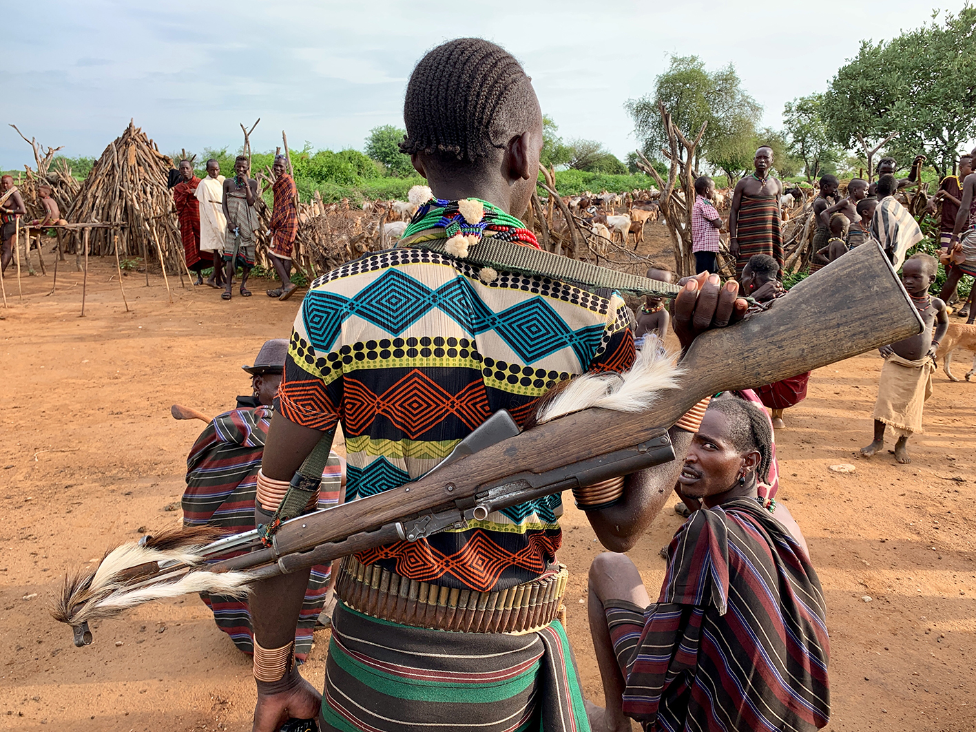 Hamar people of the Omo Valley