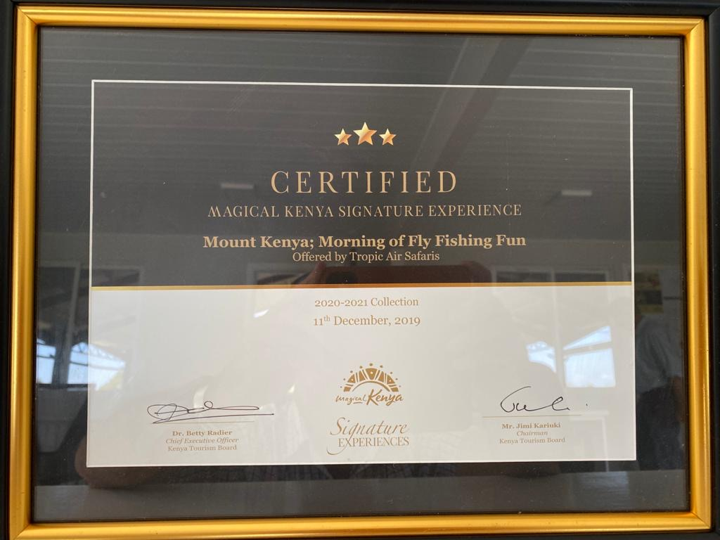 KTB Signature experience certificate