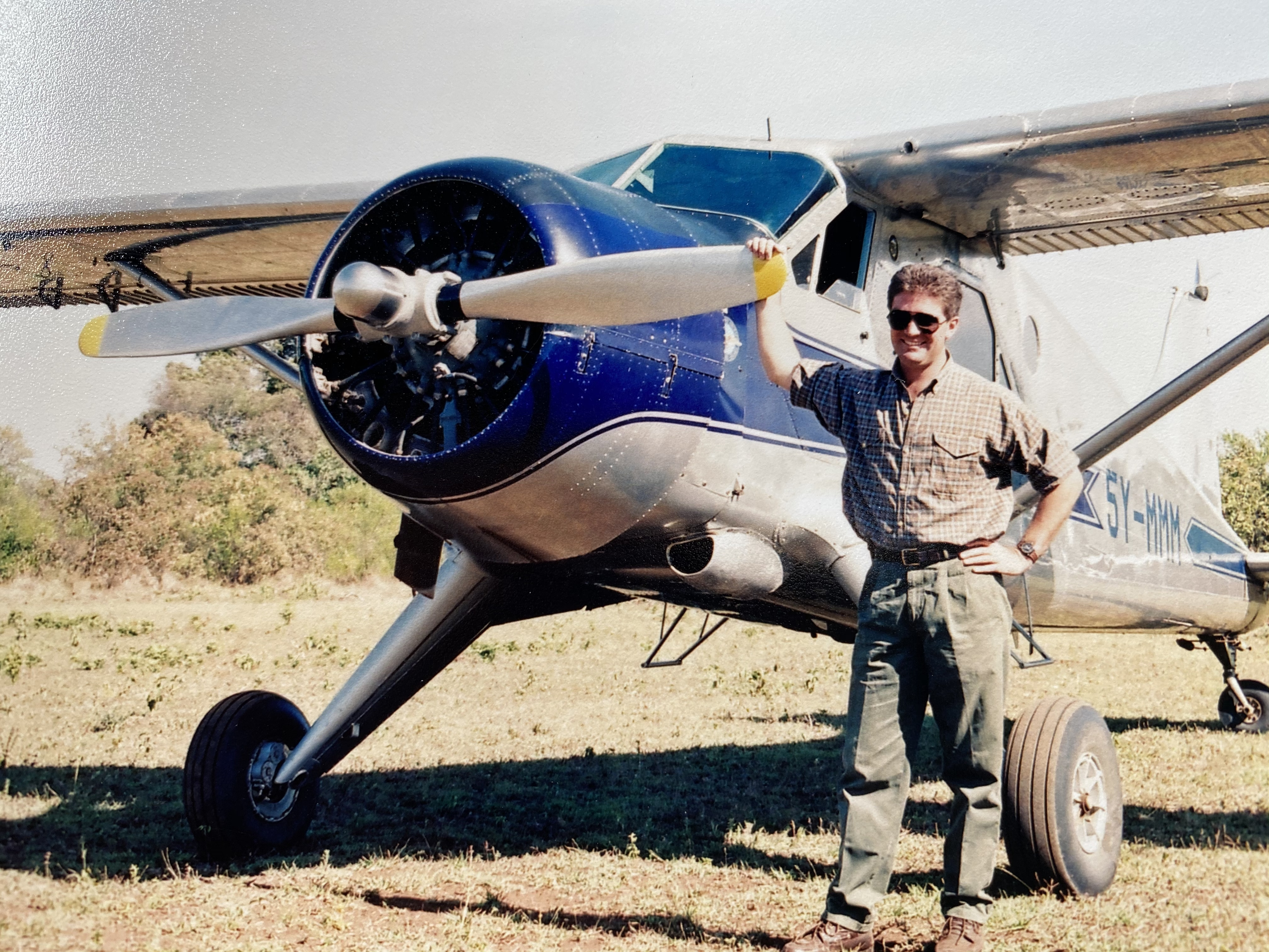 Jamie Roberts and a DHC-2