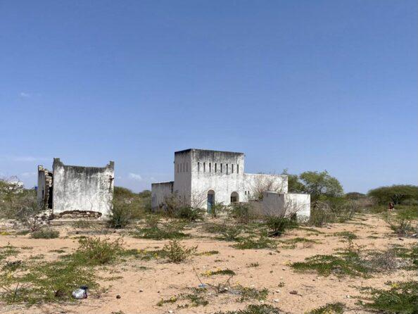 Wajir town - old Fort