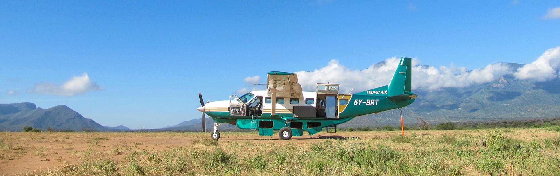Cessna Caravan, @ Tim Mwangi