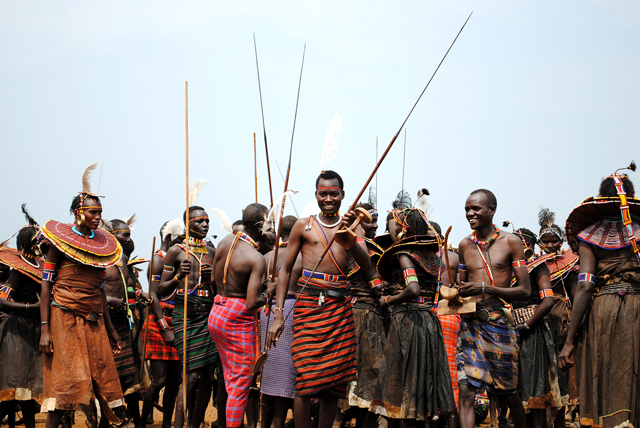 Pokot people of the Suguta, in Kenya's great Rift Valley